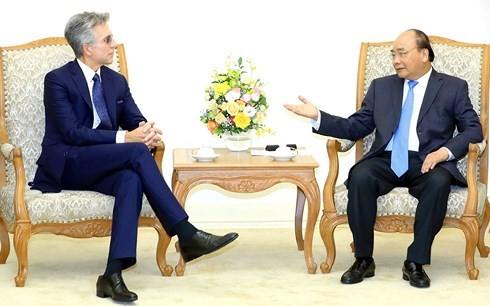 Премьер Вьетнама Нгуен Суан Фук принял главу немецкой корпорации SAP - ảnh 1
