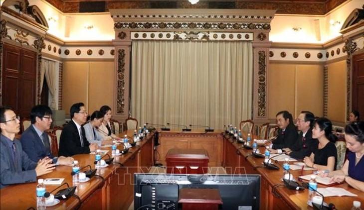 Хошимин активизирует сотрудничество с Ассоциацией региональных администраций стран Северо-Восточной Азии - ảnh 1