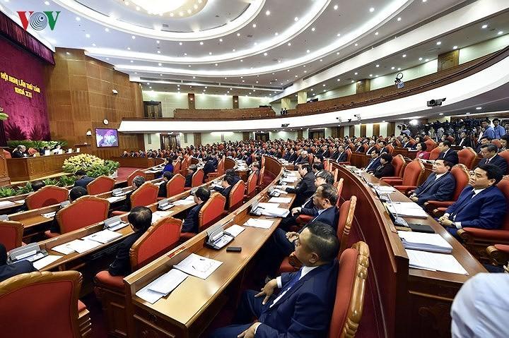 На 8-м пленуме ЦК КПВ обсуждалось социально-экономическое положение страны - ảnh 1