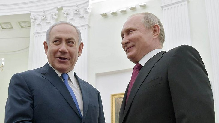 Путин и Нетаньяху договорились о первой встрече после катастрофы Ил-20 - ảnh 1
