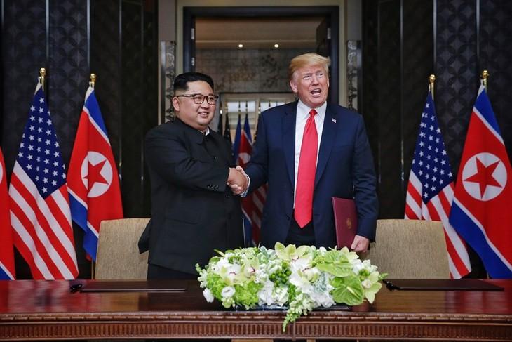 США и КНДР договорились о проведении второго саммита в кратчайшие сроки - ảnh 1