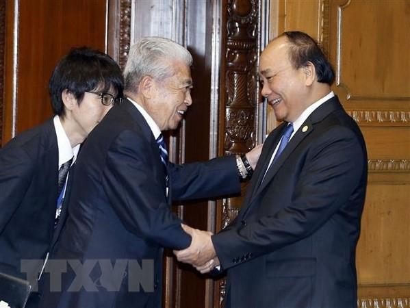 Нгуен Суан Фук встретился со спикерами обеих палат парламента Японии - ảnh 2