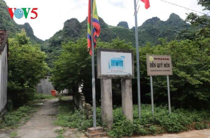 Храм Куимон, где хранятся реликвии боевых подвигов в истории борьбы вьетнамского народа против иноземных захватчиков - ảnh 1