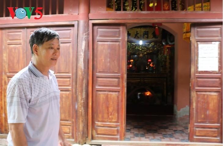 Храм Куимон, где хранятся реликвии боевых подвигов в истории борьбы вьетнамского народа против иноземных захватчиков - ảnh 2