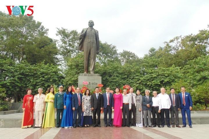 В Ханое отмечается 101-я  годовщина Октябрьской революции 1917 года - ảnh 4