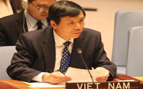 Вьетнам обещает укреплять принцип многосторонности и роль ООН - ảnh 1