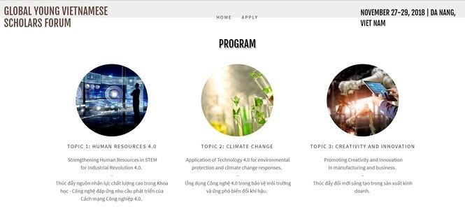 В Дананге пройдёт первый глобальный форум молодой интеллигенции Вьетнама - ảnh 1