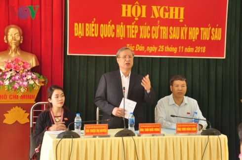 Чан Куок Выонг встретился с избирателями провинции Йенбай - ảnh 1