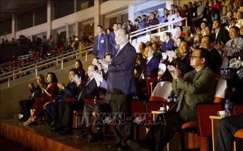 В Ханое открылись VIII всевьетнамские спортивные игры 2018 - ảnh 1
