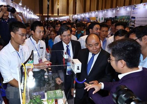 В Дананге завершился национальный фестиваль инновационных стартапов - Techfest Vietnam 2018 - ảnh 1