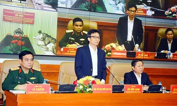 Во Вьетнаме подведены итоги реализации проекта поиска и перезахоронения останков павших фронтовиков - ảnh 1