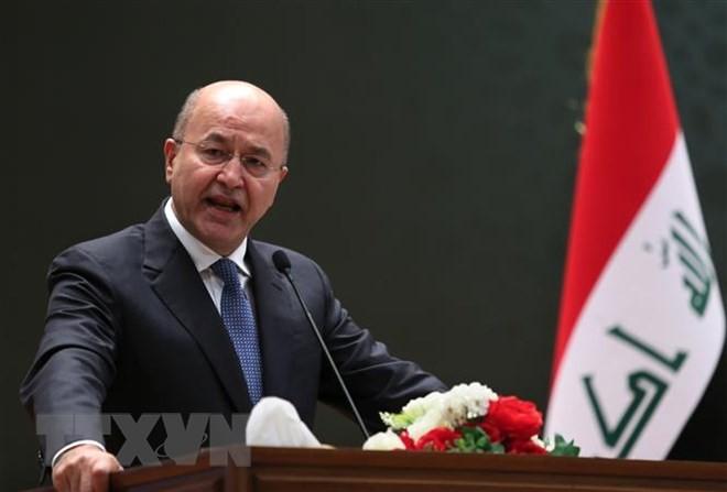 Президент Ирака надеется, что уход США из Сирии поможет урегулированию - ảnh 1