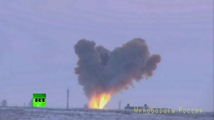 В России была успешно запущена ракета комплекса «Авангард» - ảnh 1