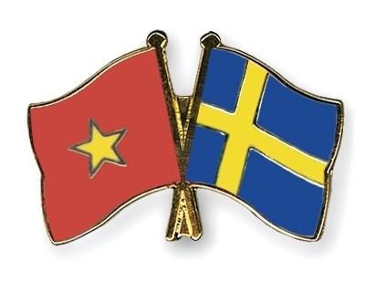 Поздравительные телеграммы в честь 50-летия установления дипотношений между Вьетнамом и Швецией - ảnh 1