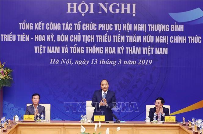В Ханое прошла конференция по подведению итогов проведения саммита США-КНДР - ảnh 1