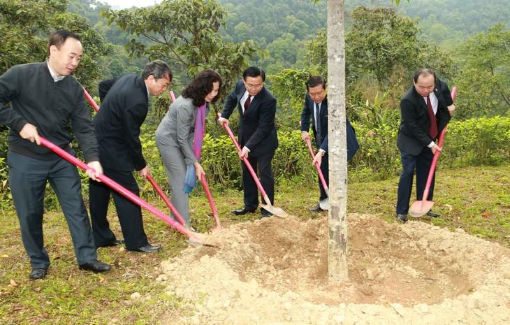 Выонг Динь Хюэ посетил национальный комплекс исторических памятников Пакбо - ảnh 2