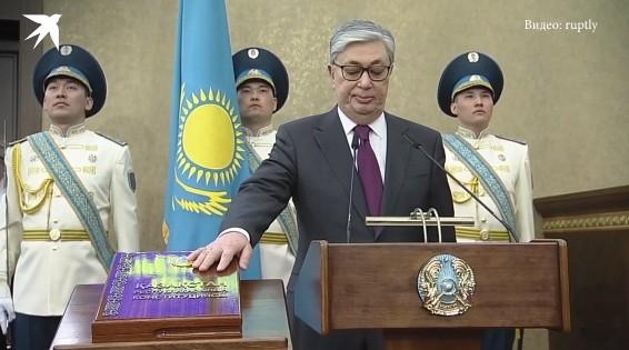 В Казахстане принял присягу новый президент страны - ảnh 1