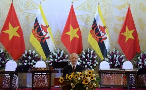 Нгуен Фу Чонг: Вьетнам и Бруней сделали важный шаг в двусторонних отношениях - ảnh 1