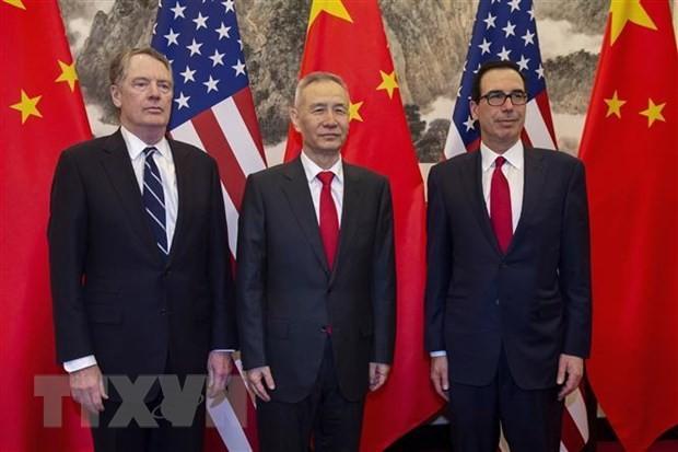 Китай и США добились нового прогресса по тексту торгового соглашения - ảnh 1