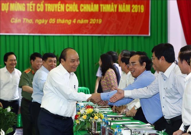 Нгуен Суан Фук провел рабочую встречу с руководством южных провинций и городов Вьетнама - ảnh 1