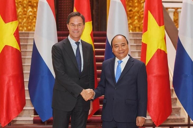 Tuyên bố chung Việt Nam - Hà Lan: Đưa quan hệ đối tác toàn diện phát triển sâu rộng và năng động trong thời gian tới - ảnh 1