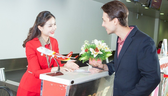 Вьетнамская авиакомпания Vietjet открыла прямой рейс между Фукуоком и Гонконгом - ảnh 1
