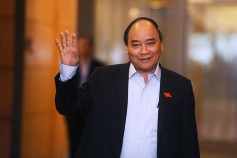 Премьер Вьетнама отправился в Китай для участия в форуме «Один пояс, один путь» - ảnh 1