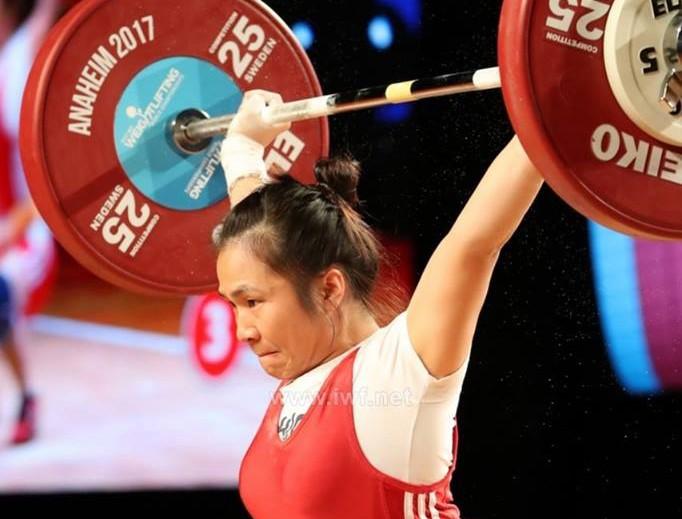 Вьетнамские спортсмены завоевали 9 медалей на чемпионате Азии по тяжелой атлетике 2019 - ảnh 1