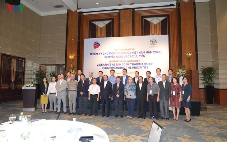 Семинар «Председательство Вьетнама в АСЕАН в 2020 году: рекомендации по приоритетам» - ảnh 1