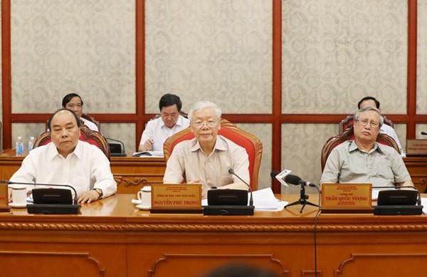 Нгуен Фу Чонг председательствовал на совещании Политбюро ЦК КПВ - ảnh 1
