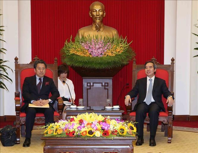 Нгуен Ван Бинь принял главу Японского банка международного сотрудничества - ảnh 1