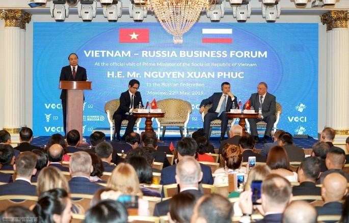 Вьетнам и Россия активизируют деловое сотрудничество - ảnh 1