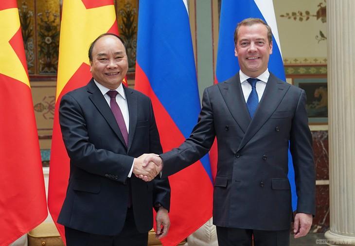 Нгуен Суан Фук провел переговоры с Дмитрием Медведевым - ảnh 1