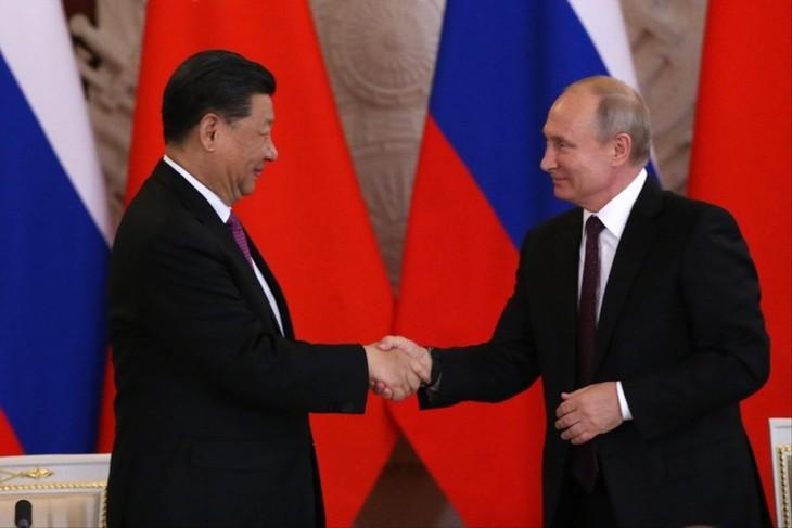 Лидеры России и Китая договорились поднять уровень двусторонних отношений - ảnh 1