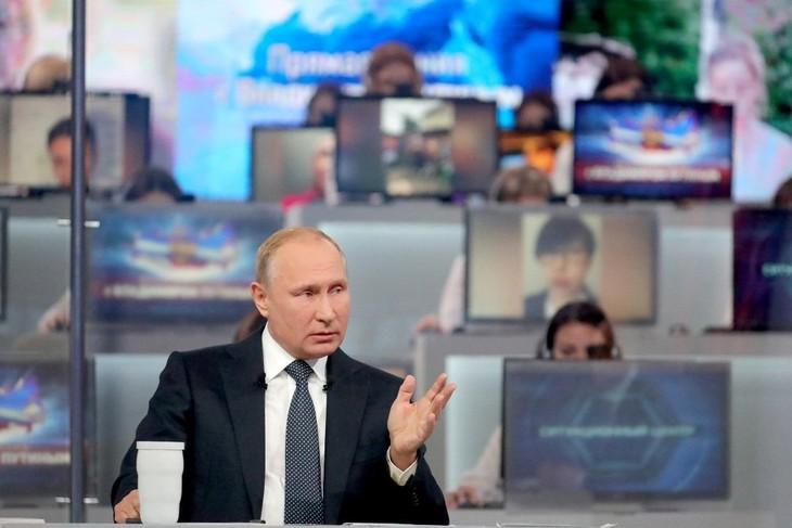 «Прямая линия» с президентом РФ Владимиром Путиным состоится 20 июня - ảnh 1