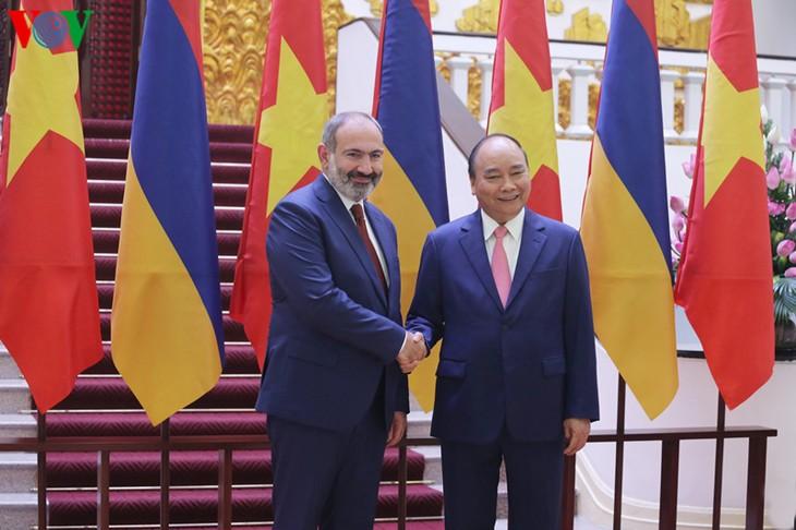 Премьер-министр Армении завершил официальный визит во Вьетнам - ảnh 1