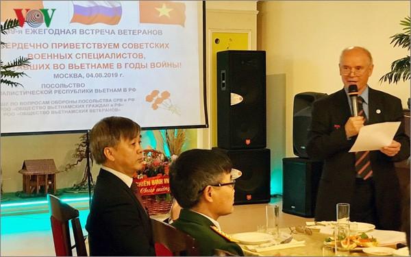 В Москве прошла встреча военных специалистов, работавших во Вьетнаме в годы войны - ảnh 2