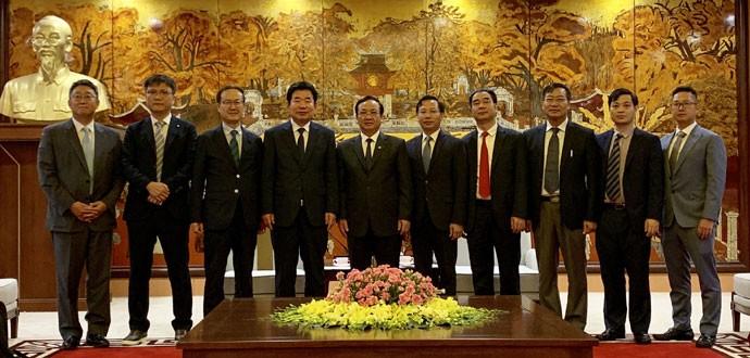 Ханой создаст южнокорейским предприятиям наилучшие условия для реализации инвестиционных проектов - ảnh 1