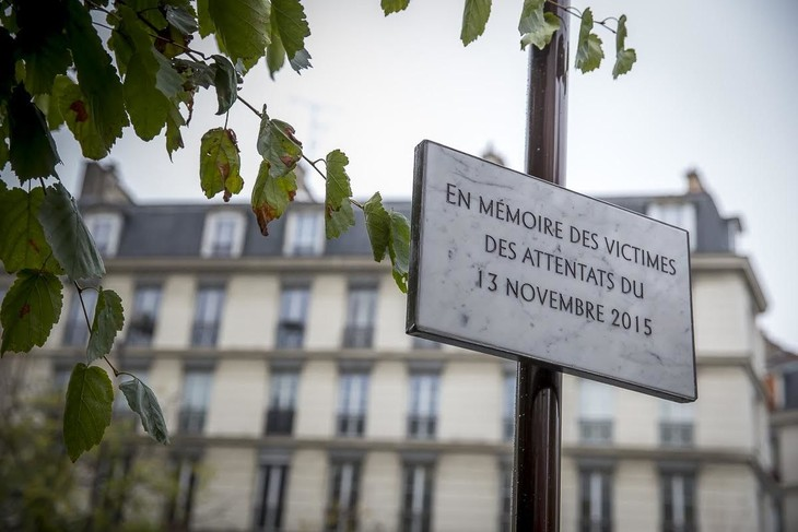 Hommage et recueillement un an après les attentats du 13 novembre - ảnh 1