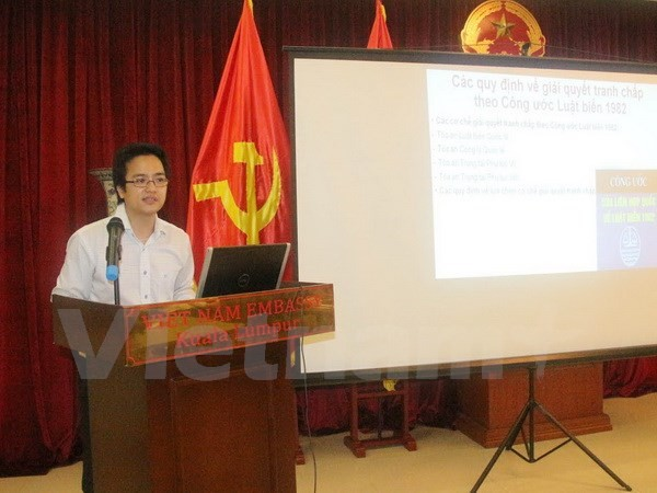 Table ronde sur la mer Orientale organisée par l'ambassade du Vietnam en Malaisie - ảnh 1