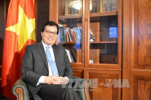 Suisse : rencontre de la diaspora vietnamienne à l'occasion du printemps 2017 - ảnh 1
