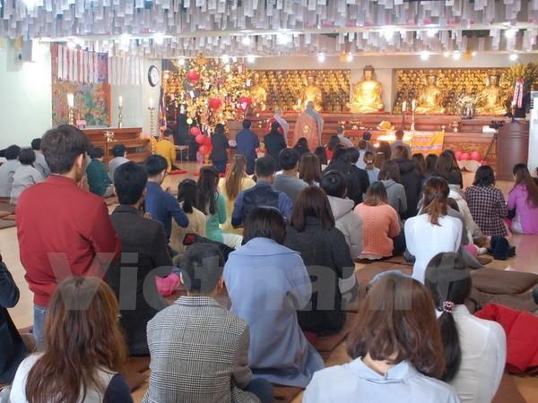 Les bouddhistes vietnamiens en République de Corée s'orientent vers le pays - ảnh 1
