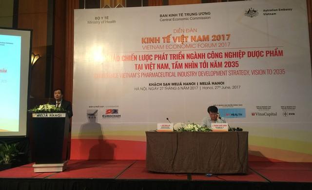 Stratégie de développement de l'industrie pharmaceutique au Vietnam - ảnh 1