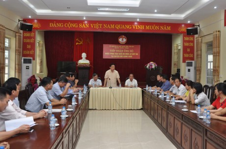 Trân Hông Hà inspecte les localités sinistrées à Yên Bai et Son La - ảnh 1