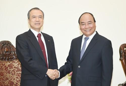 Le Premier ministre reçoit le directeur général de Tokyo Gas - ảnh 1