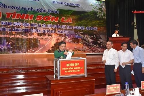 Tong Thi Phong à un programme artistique à Son La - ảnh 1