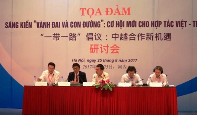 «Une ceinture, une route: nouvelle opportunité pour la coopération Vietnam-Chine» - ảnh 1