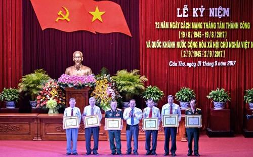 La fête nationale célébrée à Can Tho - ảnh 1
