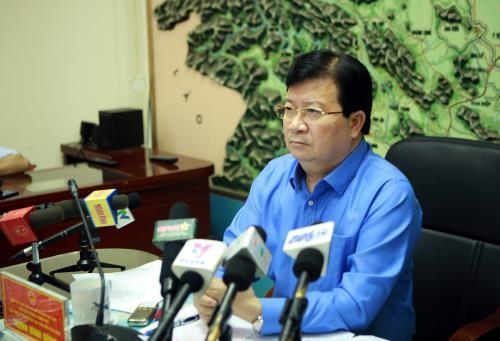 Trinh Dinh Dung en tournée à Vinh Phuc - ảnh 1