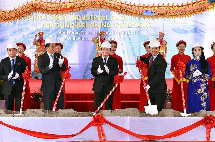 Mise en chantier de la zone industrielle Thang Long-Vinh Phuc - ảnh 1